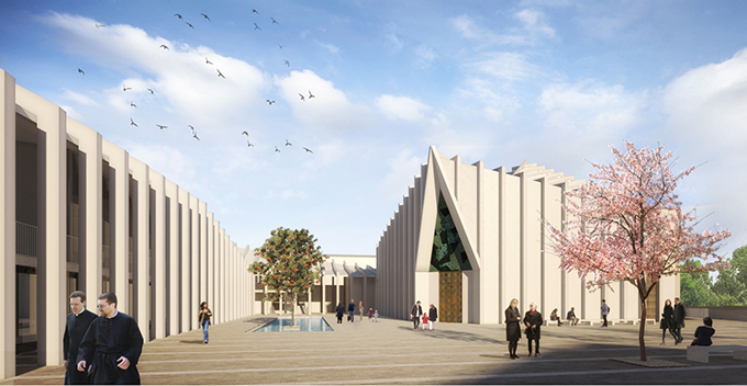 New Parish Complex of Saints Peter and Paul, Diocese of Acerenza, Oppido Lucano By RABATANALAB + Francesco Paolo Zaccaro