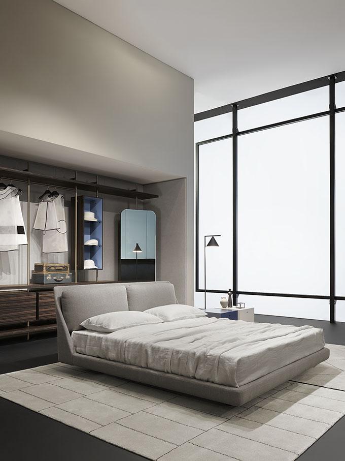 Bed Makura - Walk-in closet Boutique Mast