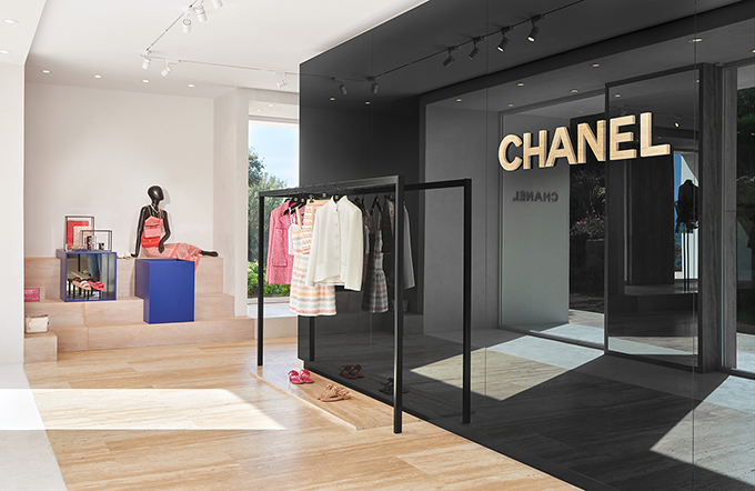 CHANEL Bodrum Seasonal Boutique