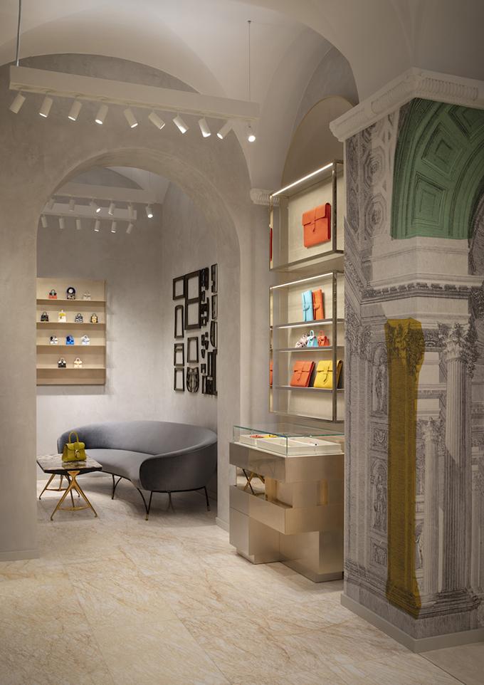Delvaux Boutique in Rome by Vudafieri-Saverino Partners