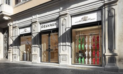 Delvaux Boutique in Rome by Vudafieri-Saverino Partners