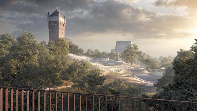 Esbjerg Bypark Design by Henning Larsen Architects