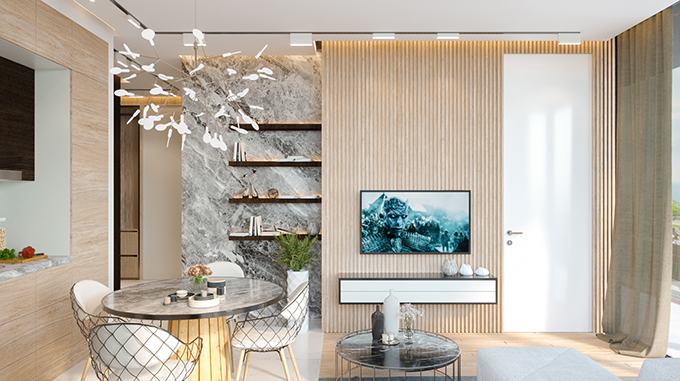 Batumi Boulevard Residence by STIPFOLD