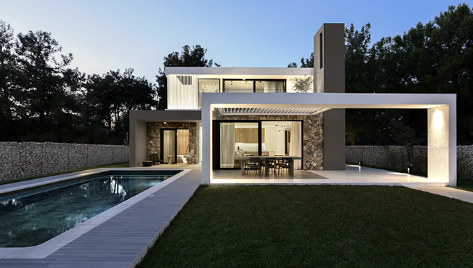 Caeli Villa by Ark4lab of Architecture