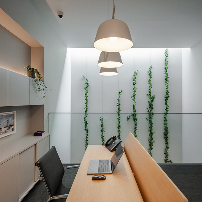 FACOL Offices designed by Ana Coelho Arq