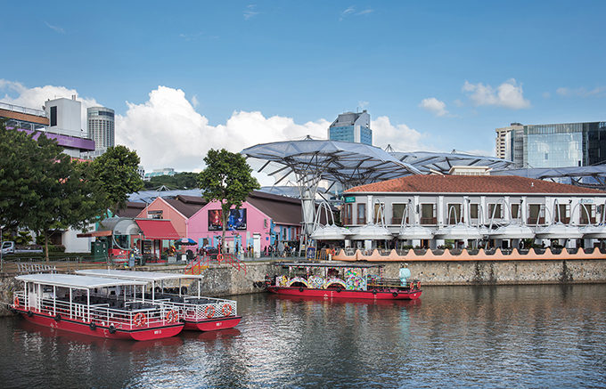 HEYTEA Day Dreamer Project at Clarke Quay Singapore by MOC DESIGN OFFICE
