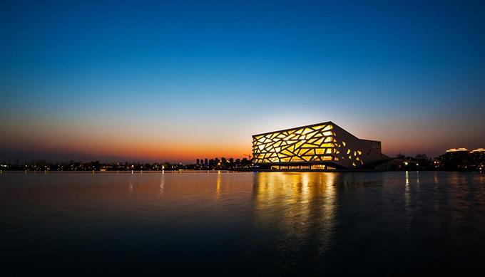 Hangzhou Yuhang Opera by Henning Larsen Architects