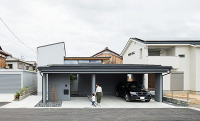 Kamikasa house by ALTS DESIGN OFFICE