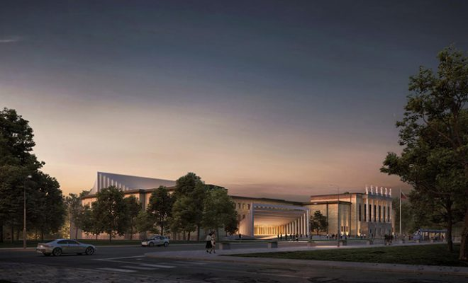 Ostrava Concert Hall by Henning Larsen Architects