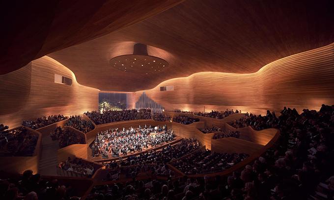 Ostrava Concert Hall by Henning Larsen Architects