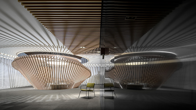 Sample Office for Poly•Future Metropolitan by CUN Design
