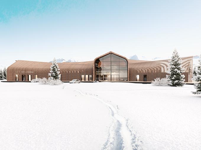 Ski Resort Russia by VADIM MALTSEV