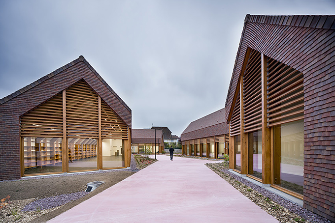 Social and Cultural Center of Cabourg by Lemoal Lemoal Architectes