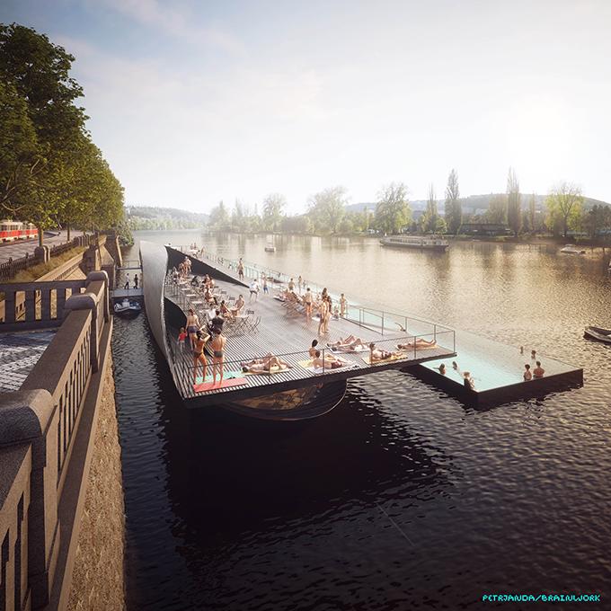 The Rebirth of the Prague's Riverfront by petrjandabrainwork