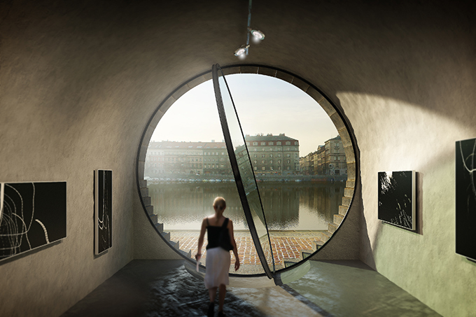 The Rebirth of the Prague's Riverfront by petrjandabrainwork