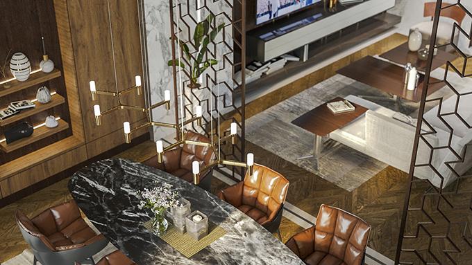 Luxury Duplex in Tbilisi by STIPFOLD