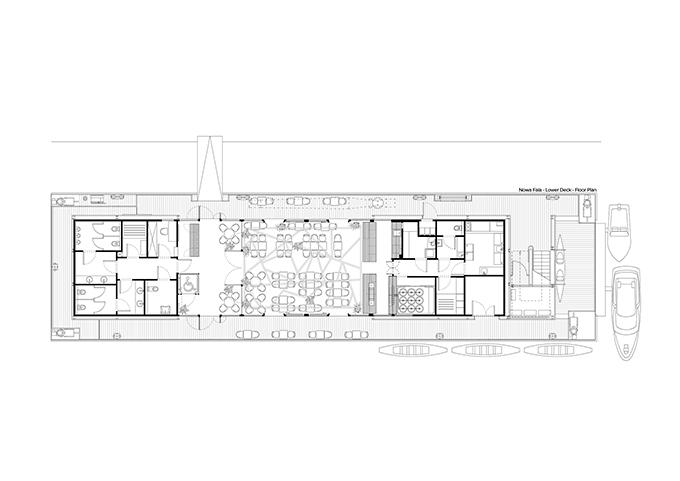 Przystań Nowa Fala by Five Cell Architects