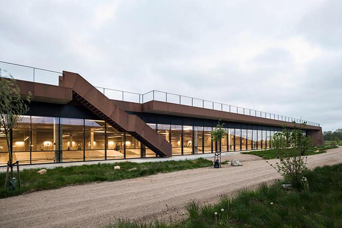 Solrødgård Water Treatment Plant by Henning Larsen