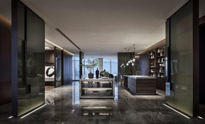 Super Villa—President Mansion In The Air by CCD Cheng Chung Design