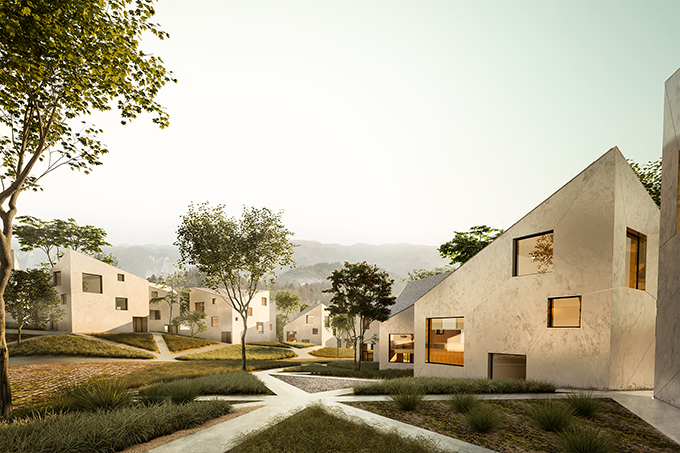 Dehan village by AQSO
