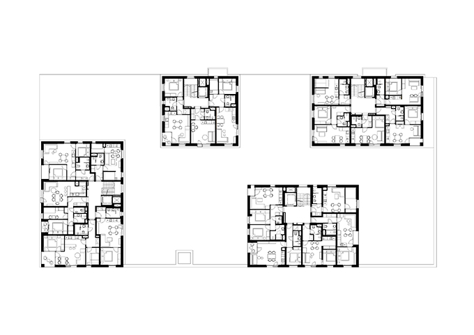 Apart-hotel Svatý Vavřinec by ov-a studio (32)