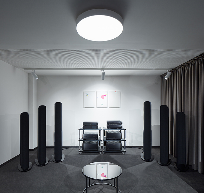 Audio and Video Showroom VOIX by Barbora Léblová and Ivo Herman