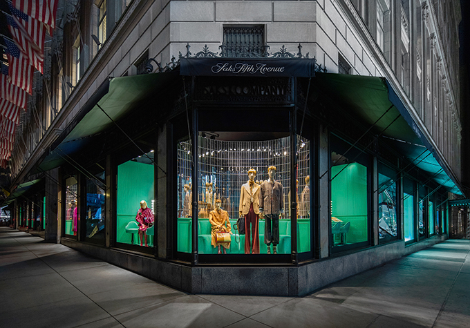 Gucci reveals Exclusive Installations and Special Window Takeovers at Saks Fifth Avenue