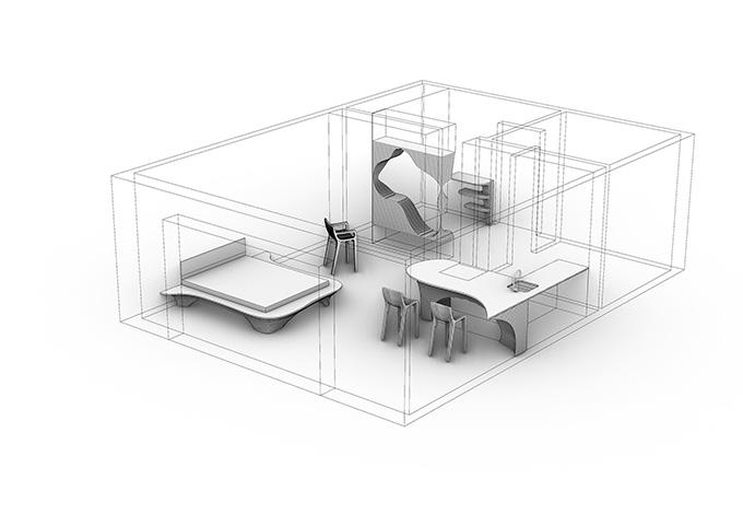 Parametric Interior by Archistroj