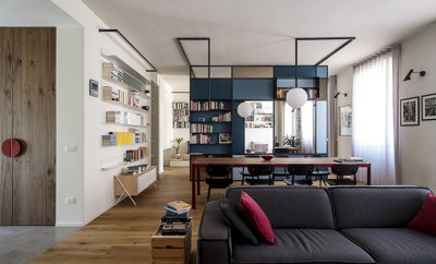 The writer's machine: Turin apartment rehabilitation by Studio Doppio
