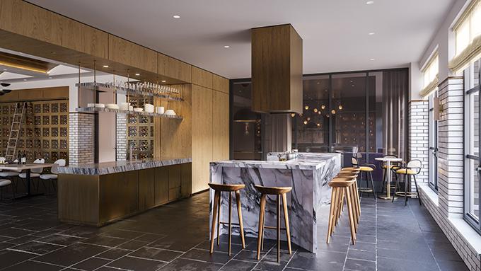 First Look Inside Morris Adjmi's New DUMBO Development Front & York