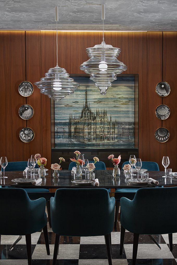 Duomo Private Dining Room by Fornasetti