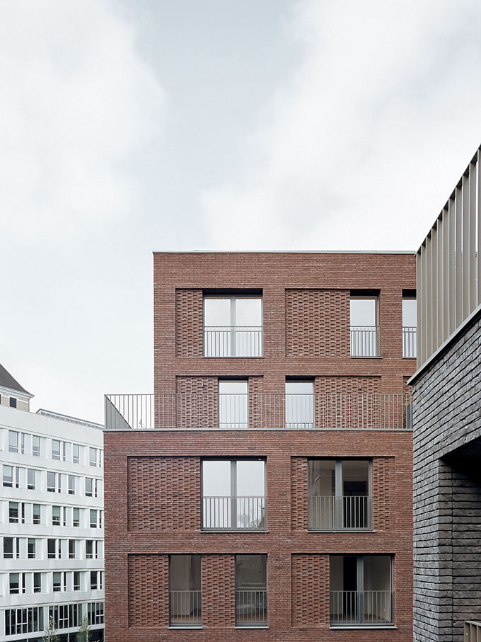 88 Housing Units along the Ourcq Canal in Pantin by Avenier Cornejo