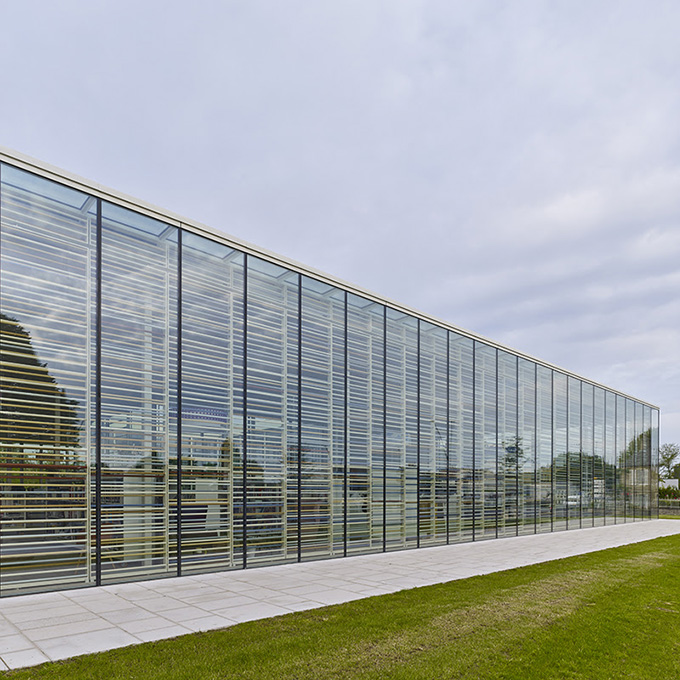 Bayeux Media Library by Serero Architectes Urbanistes