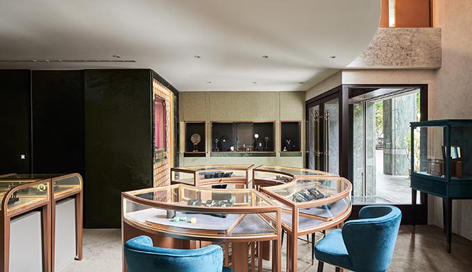 Fbbd Jewelry Shop By Ris Interior Design Archiscene