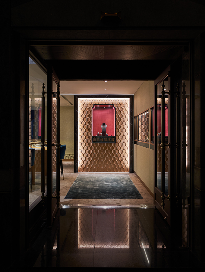 FBBD Jewelry Shop by Ris Interior Design
