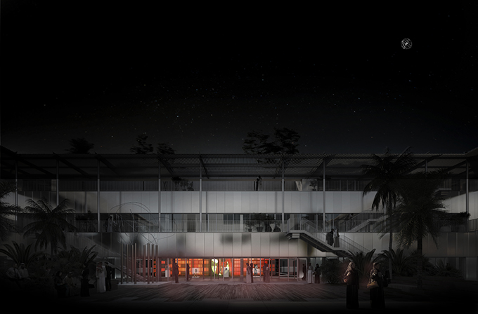 Hayy:Cinema Competition Proposal by Karim Nader Studio