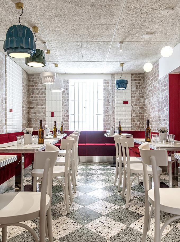 Latteria restaurant by Vudafieri-Saverino Partners