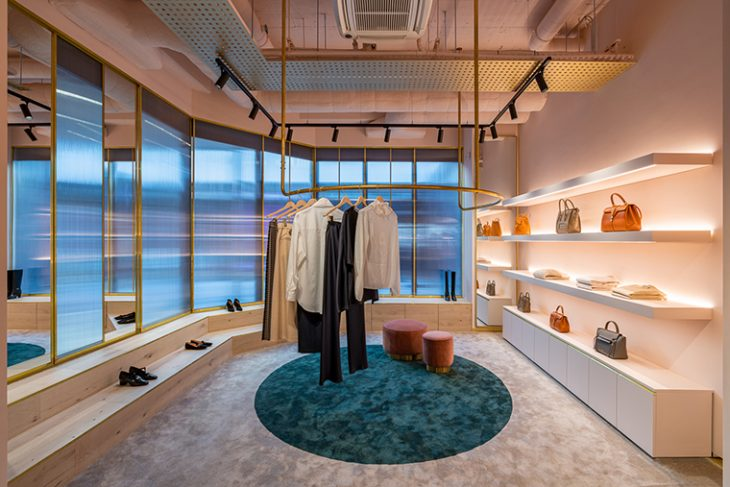 Muse By... flagship store by Michaelis Boyd