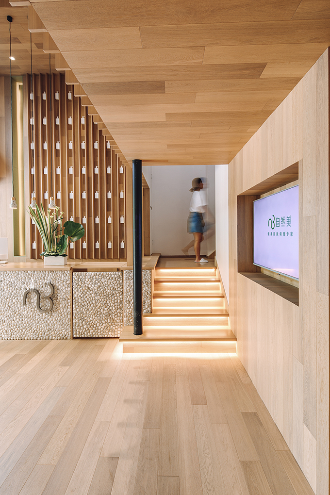 Natural Beauty Salon by Studio DOTCOF