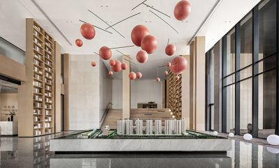 Shenyang China Overseas • Wang Jing Mansion Sales Center by ONE-CU Interior Design Lab
