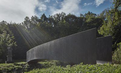 UHPC Bridge by Aoc architects and Klokner Institute