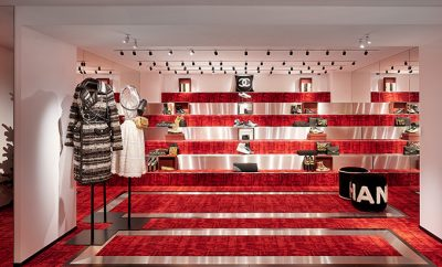 Discover the CHANEL Seasonal Boutique in Courchevel 201920