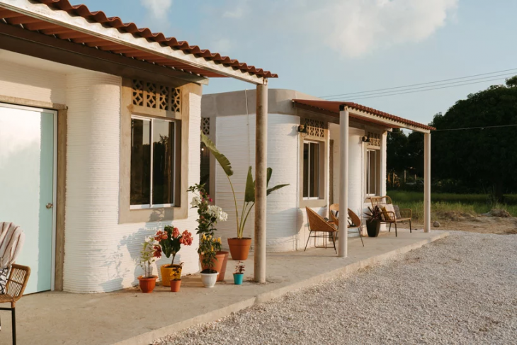 Discover the World's First 3D-printed Neighborhood in Southern Mexico