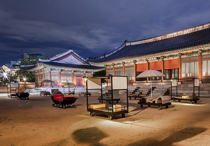Furniture For An Emperor In Transition - Architecture and Heritage: Unearthing Future at Deoksugung, Seoul
