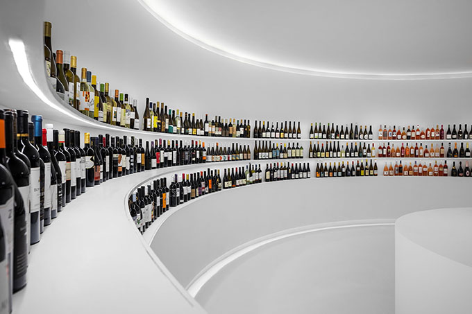 Portugal Vineyards Concept Store by Porto Architects