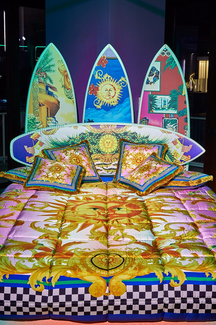 Versace Bed Linen by Sasha Bikoff