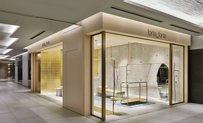 forte_forte opens New Store in Tokyo