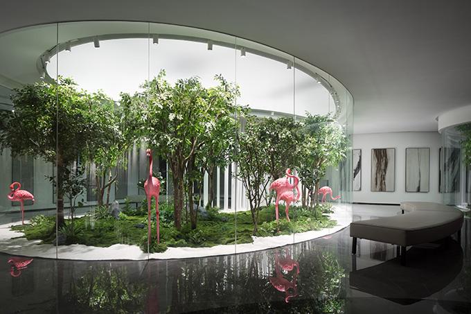 Meitao Ceramics Sales Center by FOSHAN TOPWAY DESIGN