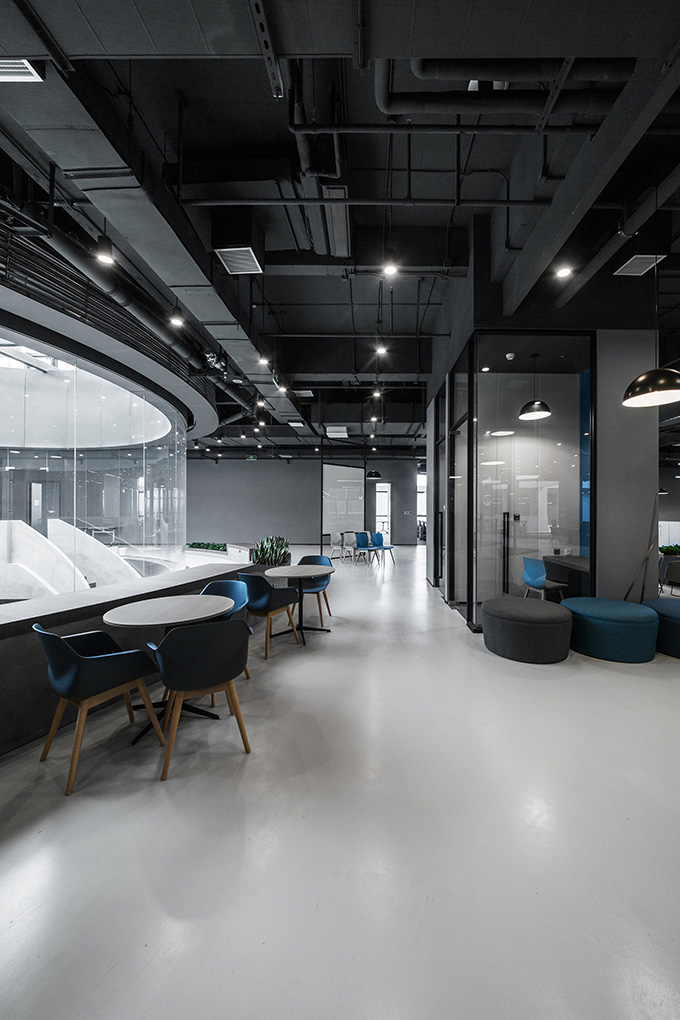 Byton Production Base Office by inDeco