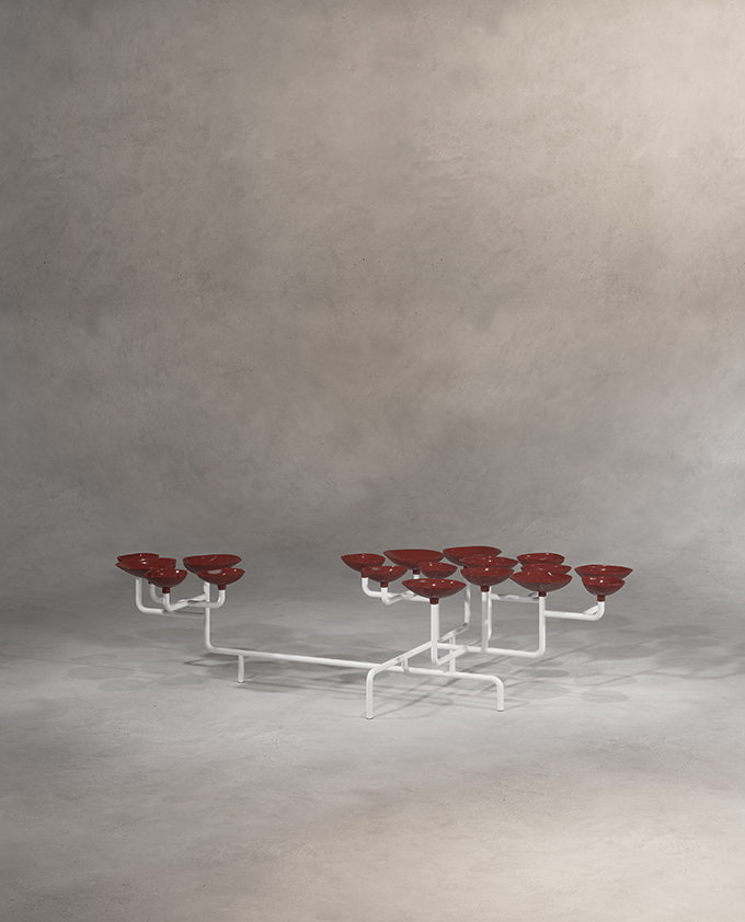 CORAL REEF TABLE by Sergey Makhno Architects and Kofta